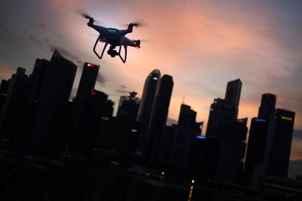 La protección de datos con la proliferación de drones.