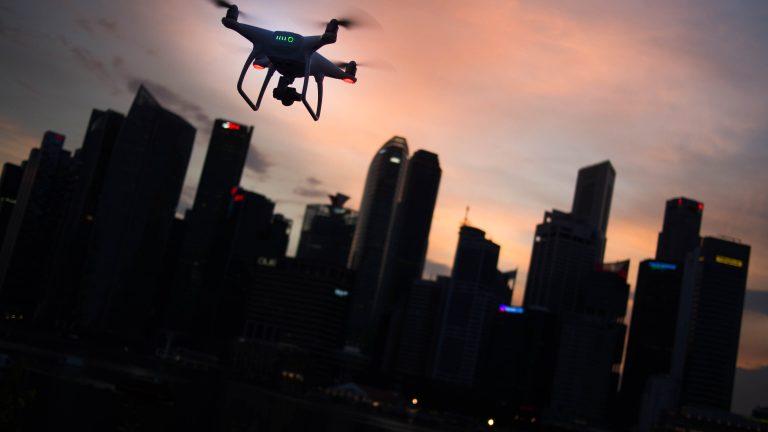 protección datos drones